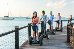 Imagen Whitsundays Segway Sunset and Boardwalk Tour with Dinner