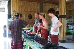 Balinese Cooking Class Big Swing And Volcano Tour.