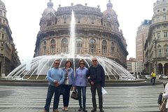 "Genoa Private Walking Tour with Ride up to the ""360 ° city view Balcony"" b"