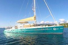 Private Day Sail aboard 57 foot luxury Catamaran Quest