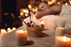 Relaxing full body holistic massage