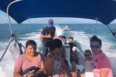 Premium Private Fishing, Snorkelling and Beach cookout tour in San Pedro,Belize