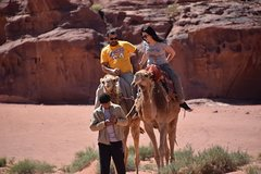 2 Day Camel Ride with Bedouin Guide Under the Stars (All Meals incl.)