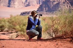 2 Day Hiking Tour with Bedouin Guide at Wadi Rum (All Meals incl.)