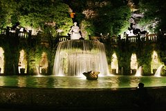 Villa DEste in TIVOLI by night Private Tour from Rome