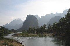 1 day Vang Vieng Mountain & Valley Trek
