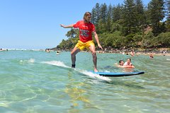 Learn to Surf Group Lesson - Walkin On Water - Coolangatta,Gold Coast,AUSTRALIA
