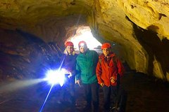 Hiking and Black Cave Exploration in Pellumbas