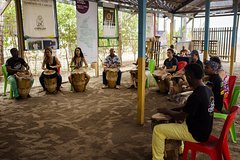 Drumming and Dancing in CartagenaLa Boquilla