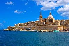 Grand Harbour & Marsamxett harbour cruise guided tour including transport