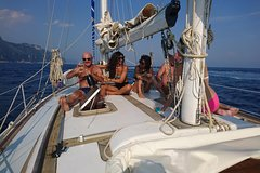 Amalfi Coast Vintage week Ketch sailboat tour