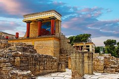 Full Day Private Tour- Knossos Palace Archaeological museum and Heraklion Town