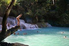 PAKOU Cave & KUANGSI Waterfall Day Tour