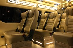 Changi Airport Departure Ground Transfer in Limo-Bus