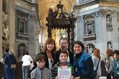 Vatican Museums Sistine Chapel & Saint Peters Basilica Private Tour