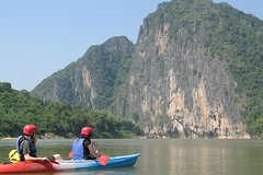 Full day / Half Day Kayaking and Pak Ou Caves with optional sunset cruise