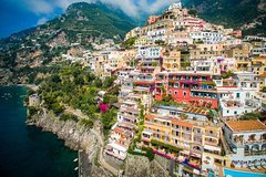 Roundtrip Naples to Positano and Positano to Naples from 4ppl up to 8ppl
