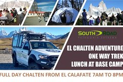 El Chalten Full Day and Trek One Way To Base Camp Fitz Roy Mount
