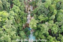 Full Day Trek to Kuang Si Waterfalls, Remote Village