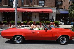 New York City Tour by Classic Muscle Car Convertible