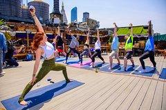 Drunk Yoga at Row NYC