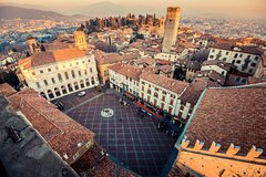 from Milan: Bergamo - Medieval Town with Guided Walking Tour