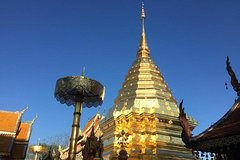 Private  Chiang Mai Doi Suthep Temple and Karen Long Neck Villages Day Tour