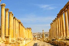 Amman City Tour, Jerash and Ajloun Day Tour From Amman