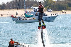 Gold Coast Combo: Jet Ski Hire, Parasailing and Flyboard for Two