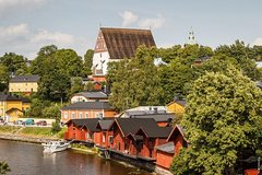 Wonderful Private Сity tour with guide in Helsinki and Porvoo by Luxury car