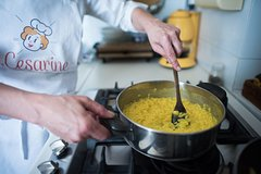 Private Pasta & Tiramisu Class at a Cesarinas home with tasting in Mila