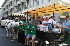 Messinas Tour With Horses Carriage, + Taormina And Isola Bella With Minivan