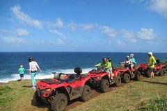 ATV&Natural bridge&Bluebay Snorkeling tour in South of Mauritius
