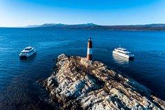 Canoero Catamarans - Canal Beagle Tour Sea Lions and Les Eclaireurs Lighthouse-