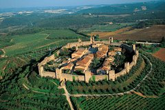 Siena Monteriggioni San Gimignano with Lunch&WineTasting Fullday from F