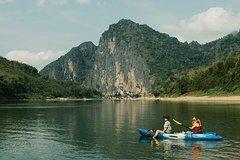 Private tours: Half day kayaking at the Nam Khan River Explorer