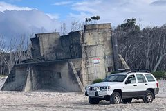 Fort Bribie Bunker and Beach 4WD Tour
