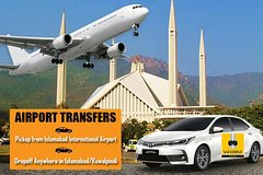 Airport Transfers from Islamabad International Airport within City