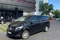 Minsk Mercedes V class transfer from airport
