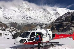 Annapurna Base Camp Helicopter Landing Tour-