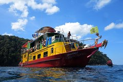 4-days Snorkel Live-aboard to BonTachai and Surin Islands from Khao Lak