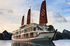 2D1N on Halong Bay and Lan Ha Bay 5 star Cruise - Included Transfer Kayak and Cave
