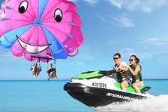 Gold Coast Parasail and 1hr Jetski Safari Combo