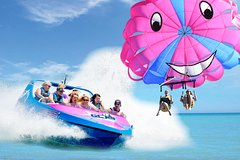 Gold Coast Tandem Parasail & V8 Jetboat Combo - 1 Location