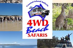 North Stradbroke Island 4WD Beach Safari - Gold Coast-Brisbane Pickup