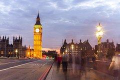 Imagen Visite indépendante de Londres la nuit avec chauffeur privé