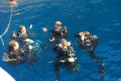 Baptism of the Sea in Portofino with diving tour to the Christ of the Abyss