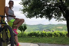 E-bike tour in the Langhe with wine tasting in the cellar and gourmet packe