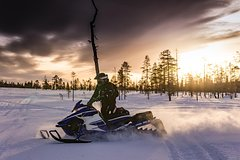 WINTER - Whole Day Adventure of Snowmobile
