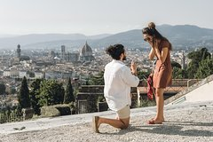 Get down on your knee! Surprise Proposal in Florence